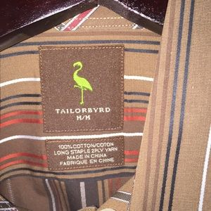 Tailorbyrd Shirts - Tailorbyrd Medium button down